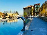 piscina esterna panoramica